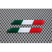 3D-Aufkleber, Flagge von Italien, gewölbtes Design, für Ducati, 7,6x 1,3cm