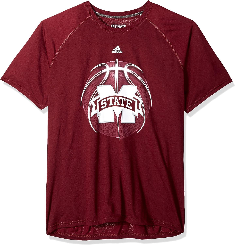 adidas NCAA Mens Light Ball Ultimate S//S Tee
