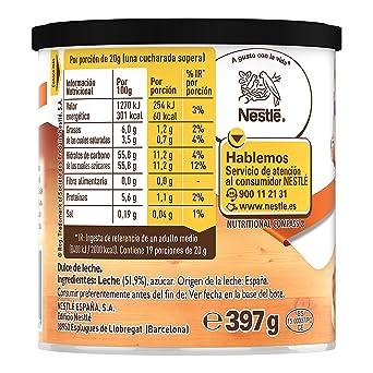 Nestlé La Lechera Dulce de Leche - 397 gr: Amazon.es: Alimentación ...
