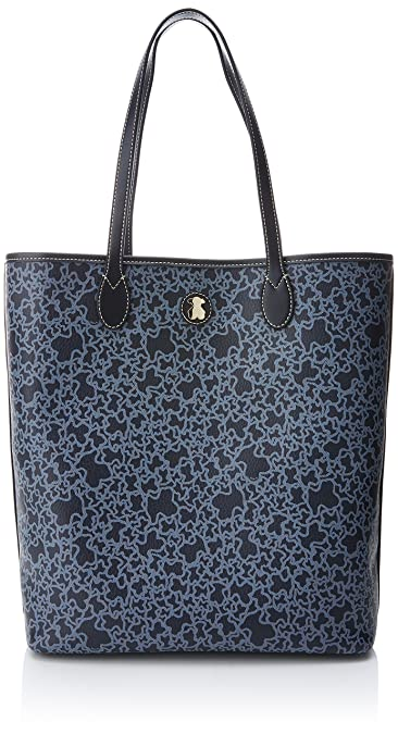 Amazon.com: Borsa shopper Tous logo orsi blu azul marino: Shoes