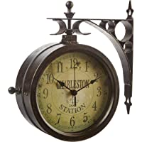 Infinity Indoor/Outdoor 8″ The Charleston Double Sided Clock & Thermometer - 12430CT-RUV2