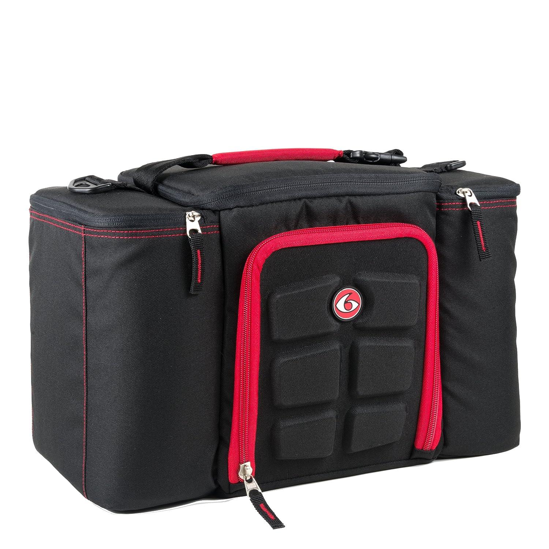 6 PACK BAG INNOVATOR 300 - BLACK/RED MEAL MANAGEMENT 21301
