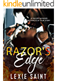 Razor's Edge: A Fallen Savages Motorcycle Club Story (Fallen Savages MC Romance Book)