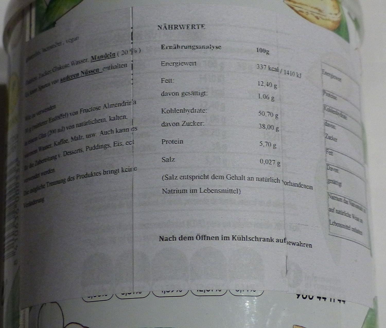 Almendrina Crema de Almendra - 1000 gr: Amazon.es: Alimentación y bebidas
