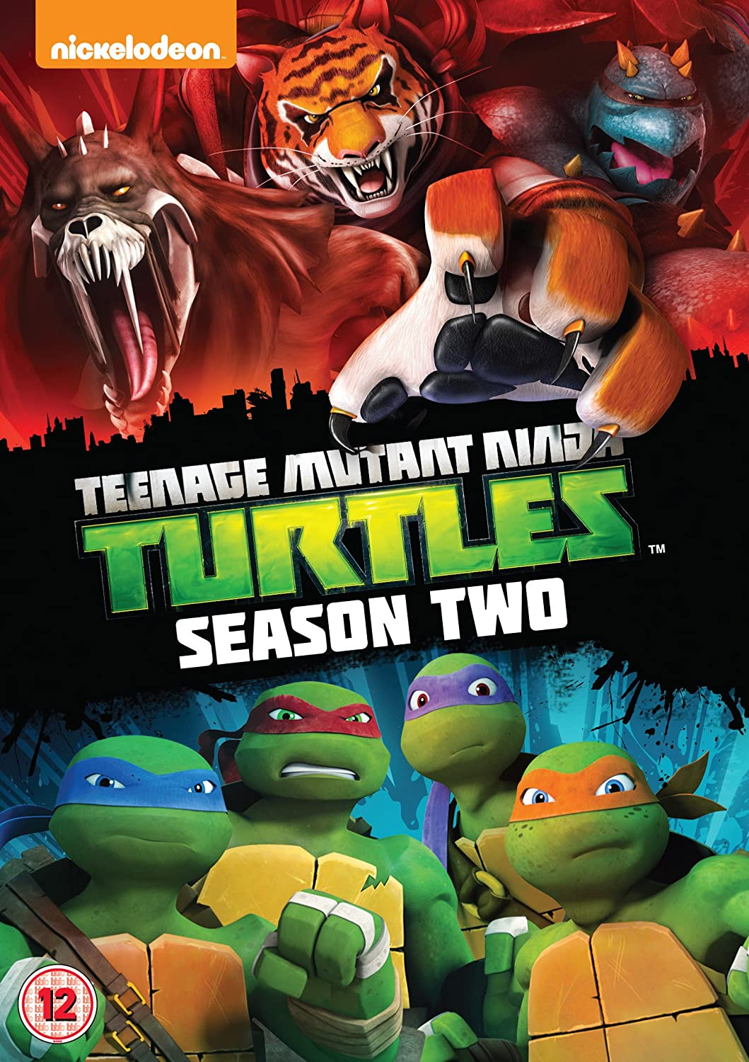 Teenage Mutant Ninja Turtles Season 2 Edizione: Regno Unito ...