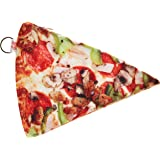 DCI Yummy Pocket Zip Coin Purse, Pizza