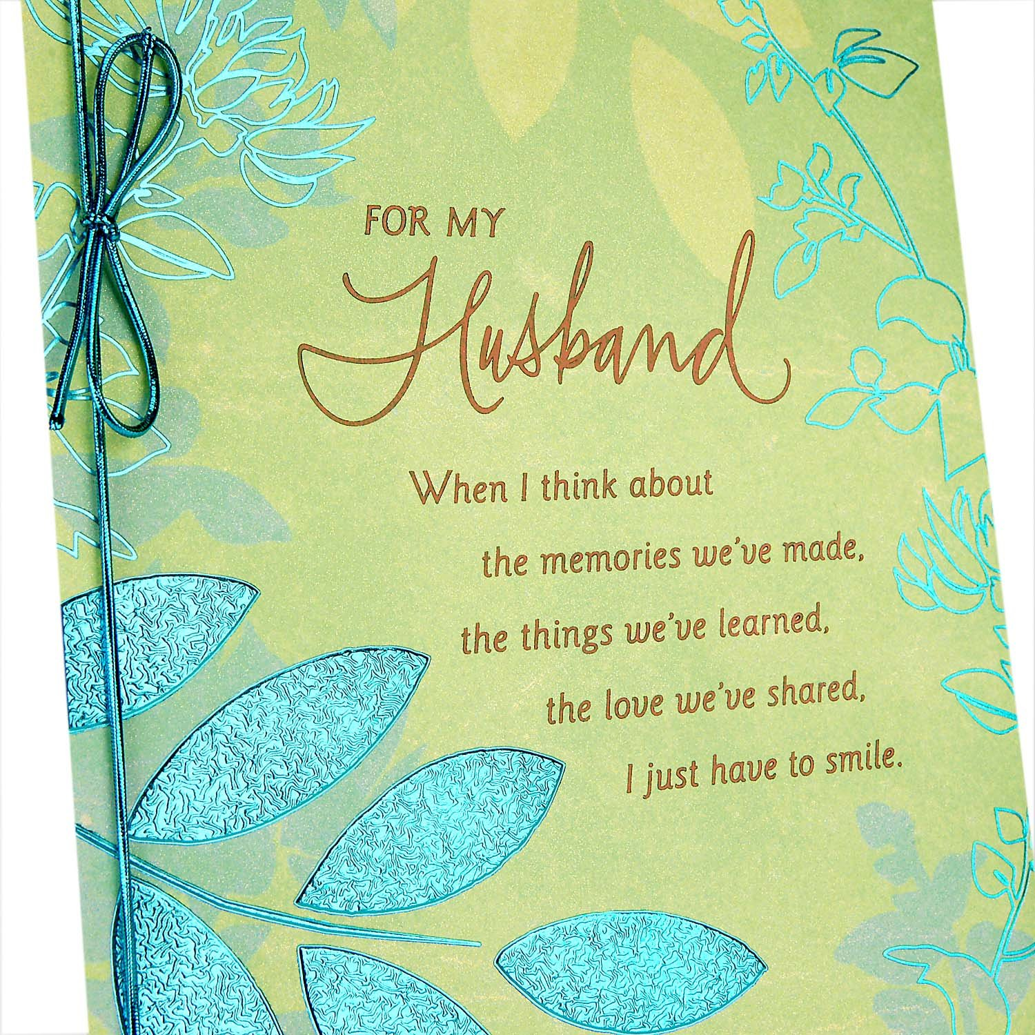 Hallmark Romantic Fathers Day Greeting Card For Husband Sweet And