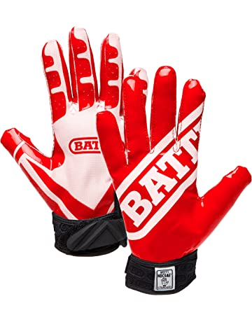 cc3b5275437ff Battle Ultra-Stick Football Gloves – Ultra-Tack Sticky Palm Receivers Gloves  – Pro