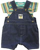 Under The Nile Lap Tee with Denim Overall