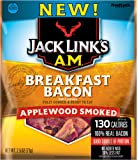 Link Snacks Jack Link's A.M. Breakfast Bacon, Applewood Smoked, 2.5 Ounce