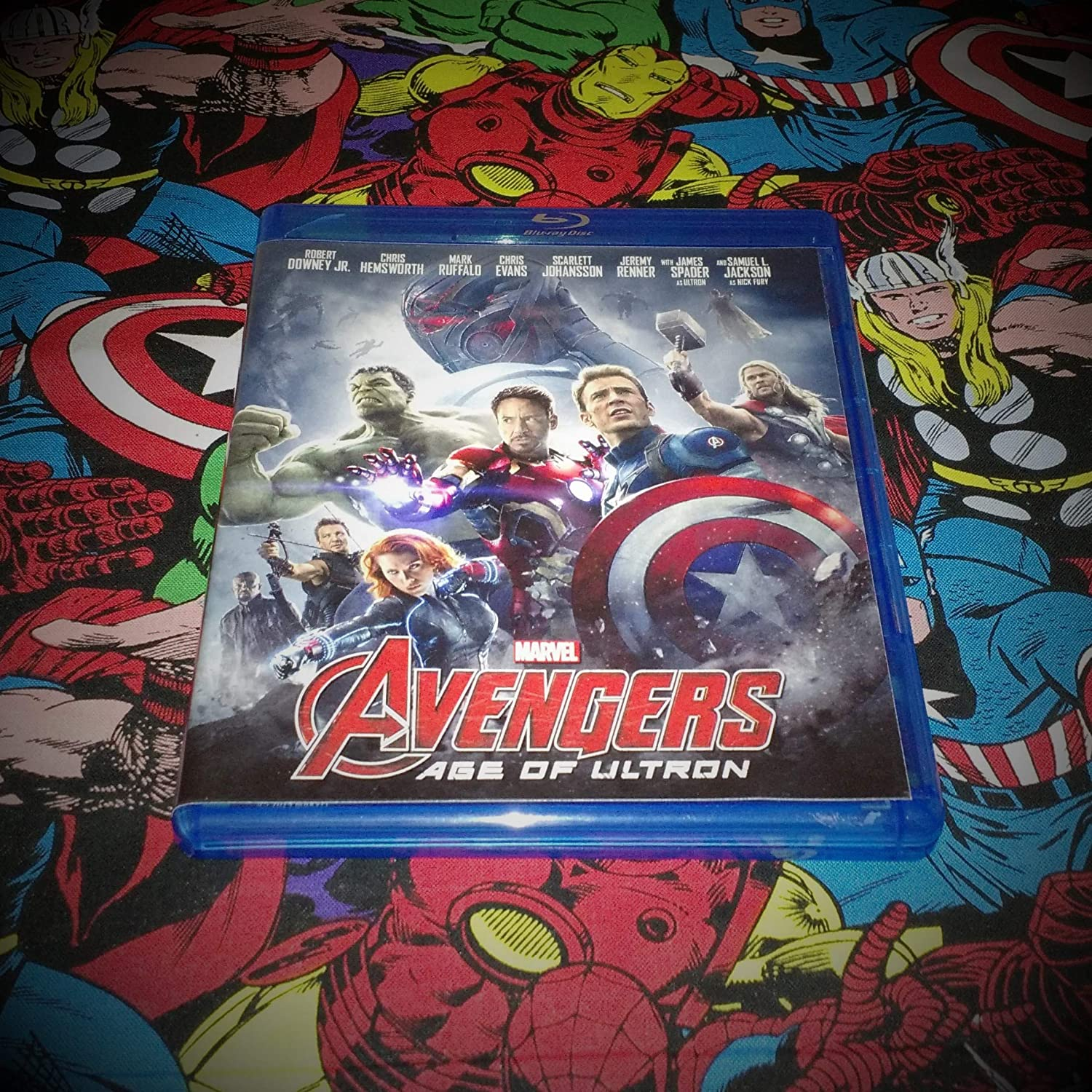 Marvel's The Avengers: Age Of Ultron [Blu-ray]