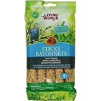 Living World 80671 Budgies Honey Treat Sticks, 5.3-Ounce