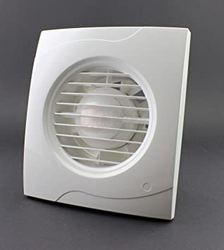 Favorit Badlüfter Lüfter Wandlüfter Ventilator WC Bad Küche leise Ø 100 mm YV97