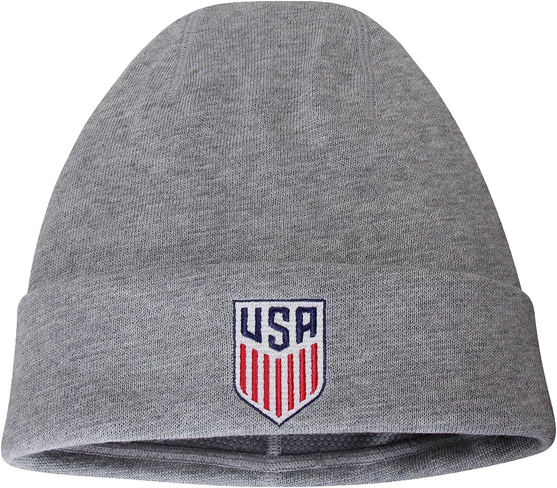 oopp jfhg USA Football Beanie Knit Hats Skull Caps Men DeepHeather