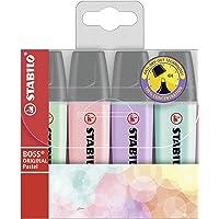 STABILO Highlighter Pen Set - Pack of 4 (Multicolour)