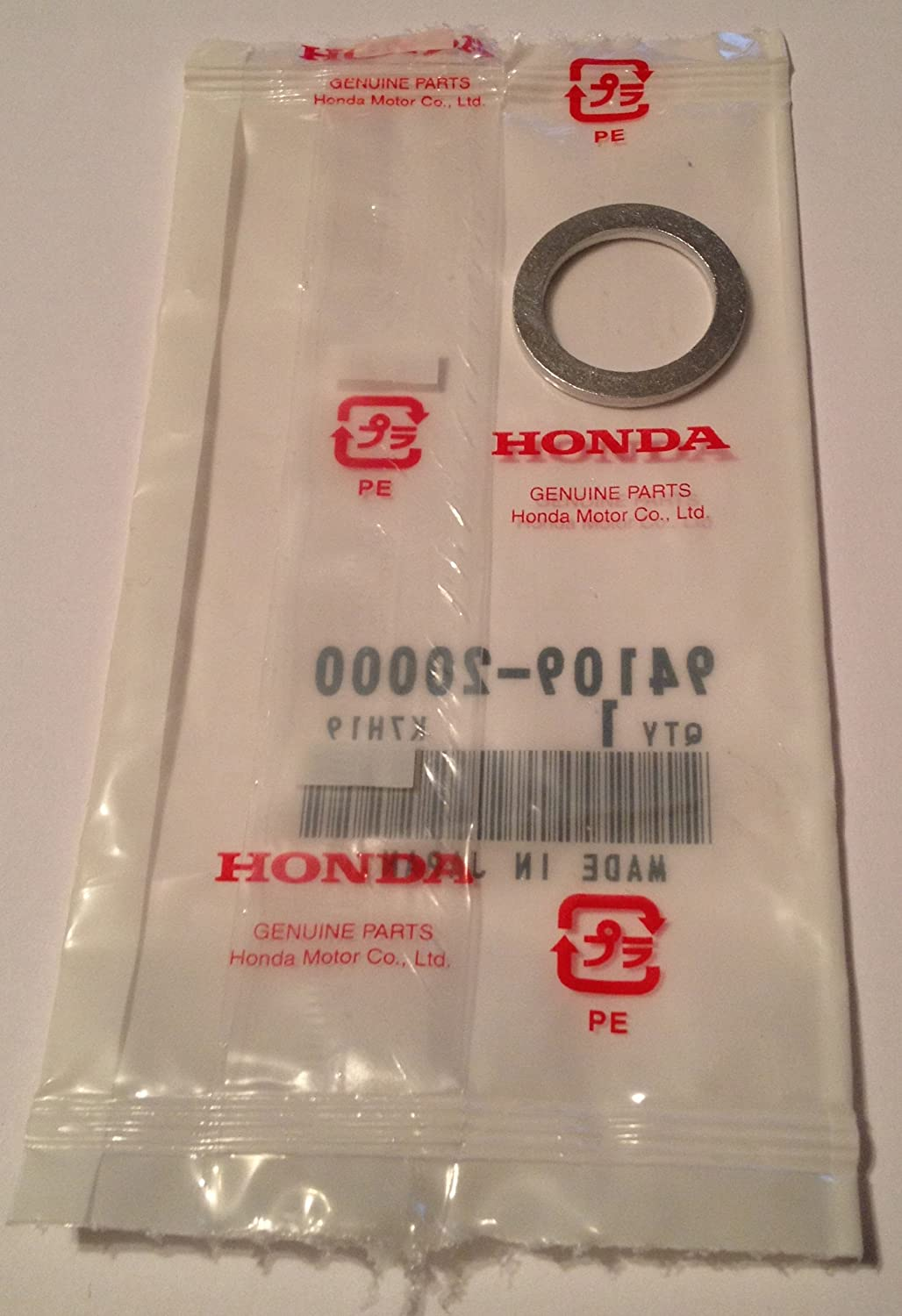 Honda Genuine Oem Rear Differential Drain Fill Plug 2002 Crv Parts Washer 94109 20000 20mm Automotive