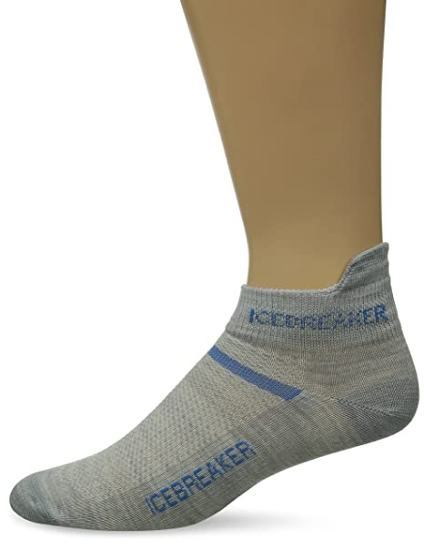 Icebreaker Socken Kurz Mens Multisport Ultra Light Micro - Calcetines, color gris, talla S