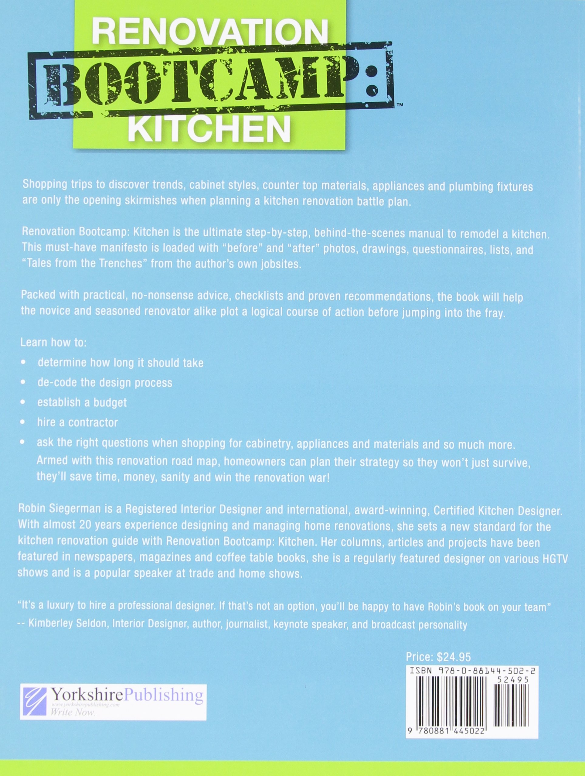 Renovation Bootcamp Kitchen Design And ReModel Your Kitchen