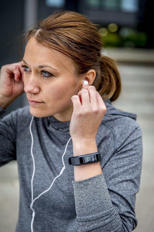 X-Large Black Garmin Vivosmart HR Activity Tracker with Smart Notification and Wrist Based Heart Rate Monitor EU