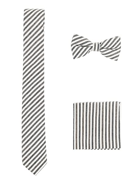 Hombre Algodón Casual 3 en 1 Set - Pajarita Clásica 6*12 cm ...