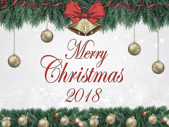 Merry Christmas Poster 2018.Amazon Com Merry Christmas Holiday Party Banner Christmas