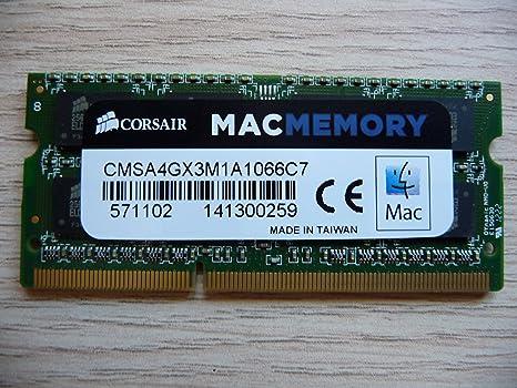 Memory RAM Laptop Notebook PC3 8500 DDR3 1066 MHz 204 PIN CL7 SoDIMM 2x LOT GB