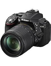 """Nikon D5300 Fotocamera Digitale Reflex + Nikkor 18/105VR, 24.1 Mbps, LCD HD da 3"""" Regolabile, SD da 8GB, 200x Premium Lexar, Nero [Nital Card: 4 Anni di Garanzia]"""