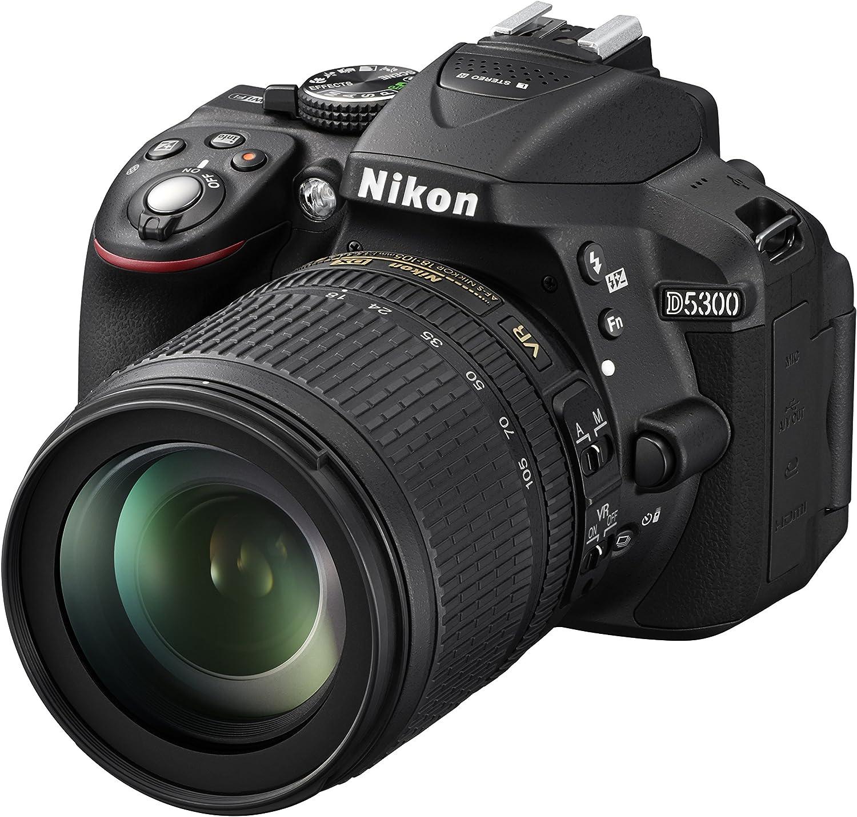 Nikon D5300 - Cámara réflex de 24.2 MP (Pantalla TFT LCD inclinable 3.2