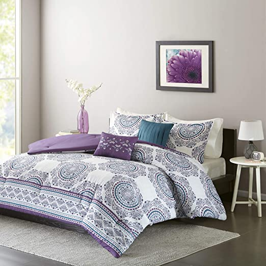 Amazon.com: Intelligent Design ID10 922 COMFORTER SET, Full/Queen