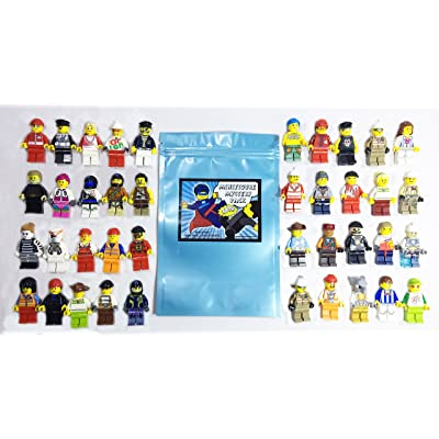 Lego Lot Of 10 Minifigures Random Lot Star Wars, Ninjago & More (US Seller): Toys & Games