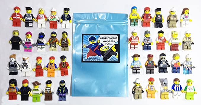 LEGO ® LOT OF X10 HAIR STYLE MINIFIG DIFFERENT MODEL BRAND NEW