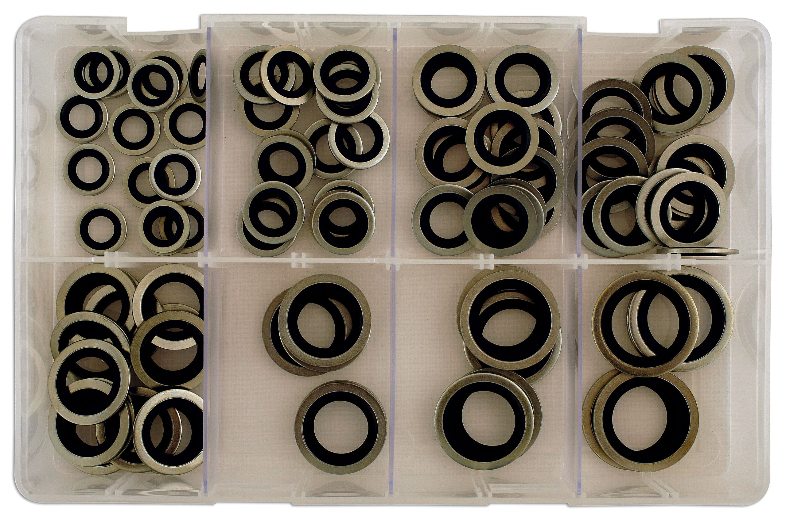 Connect 31873 Assorted Bonded Seal Washers MM(Dowty)Qty 90