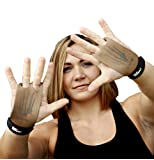 Bear KompleX 2 hole Gymnastics grips are great for WODs, pullups, weight lifting, chin ups, cross training, exercise, kettlebells, and more. Protect your palms from rips and tears! MED 2hole GREY