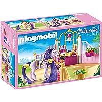 Playmobil - 6855 - Jeu - Ecurie + Cheval à Coiffer