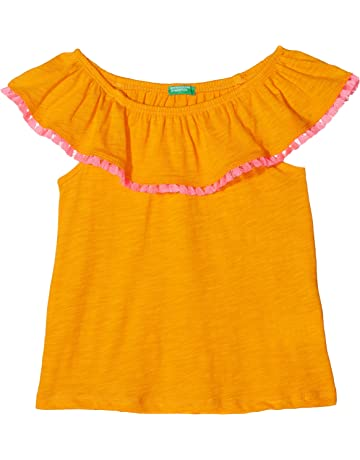 1034e7d9158936 United Colors of Benetton Girl's Sweater H/S Jumper