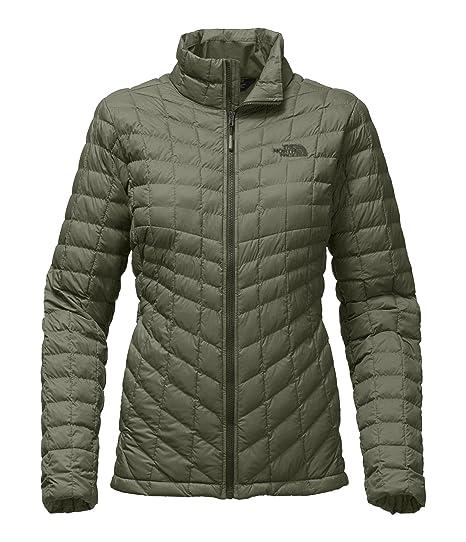 880264ec33da The North Face Women s Thermoball Full Zip Jacket Deep Lichen Green Matte -  XS