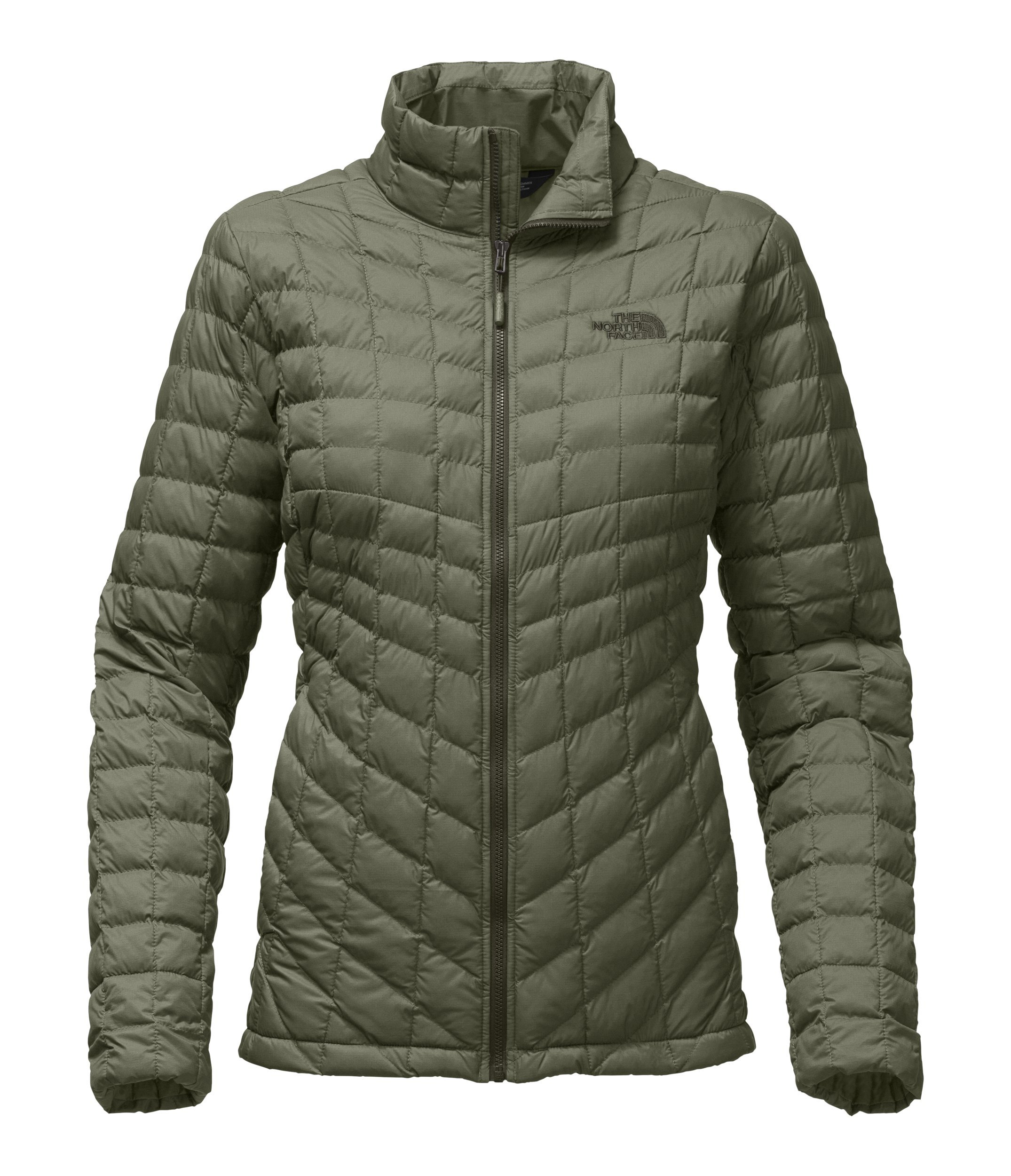 8e05eed72 The North Face Womens Thermoball Full Zip Jacket Deep Lichen Green Matte -  XXL