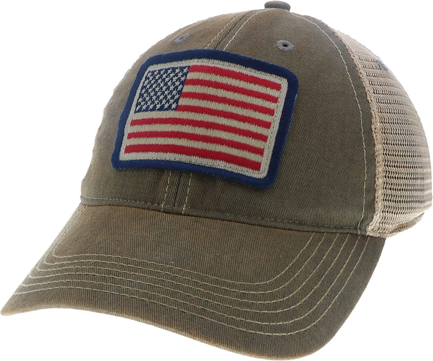 Red Beards Outfitter RBO USA Flag Trucker Hat