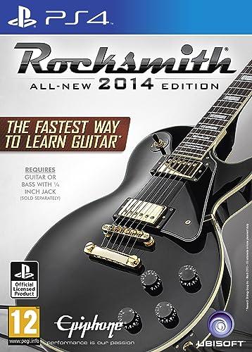 Rocksmith 2014 Edition with Real Tone Cable [Importación Inglesa]: playstation 4: Amazon.es: Videojuegos