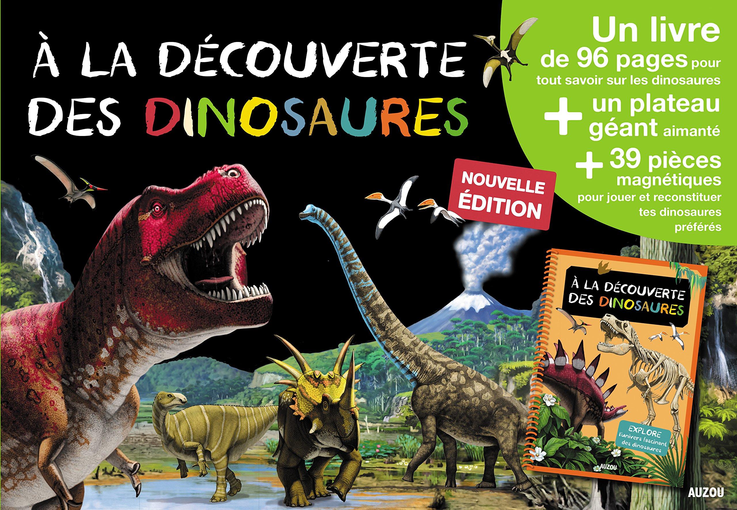 A La Decouverte Des Dinosaures Un Livre Un Plateau Geant