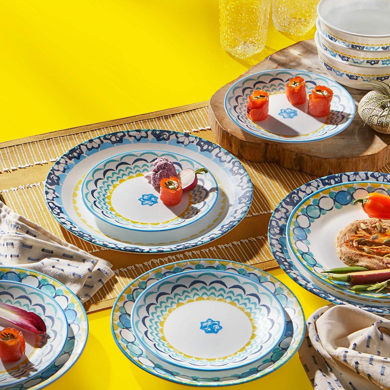 Corelle Chip Resistant Dinnerware Set 6-Piece Boho Daydream
