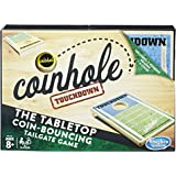 Coinhole Touchdown Coin-Tossing Table Top Cornhole Party Game Ages 8 and Up (Amazon Exclusive)