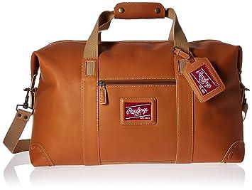Amazon.com : Rawlings Heart of the Hide Duffel Bag, Large, Black ...