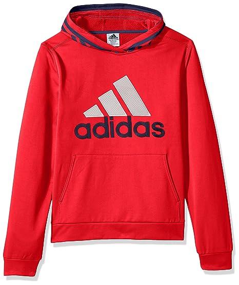 dc5f8ee9c7b2 adidas Boys' Athletic Pullover Hoodie