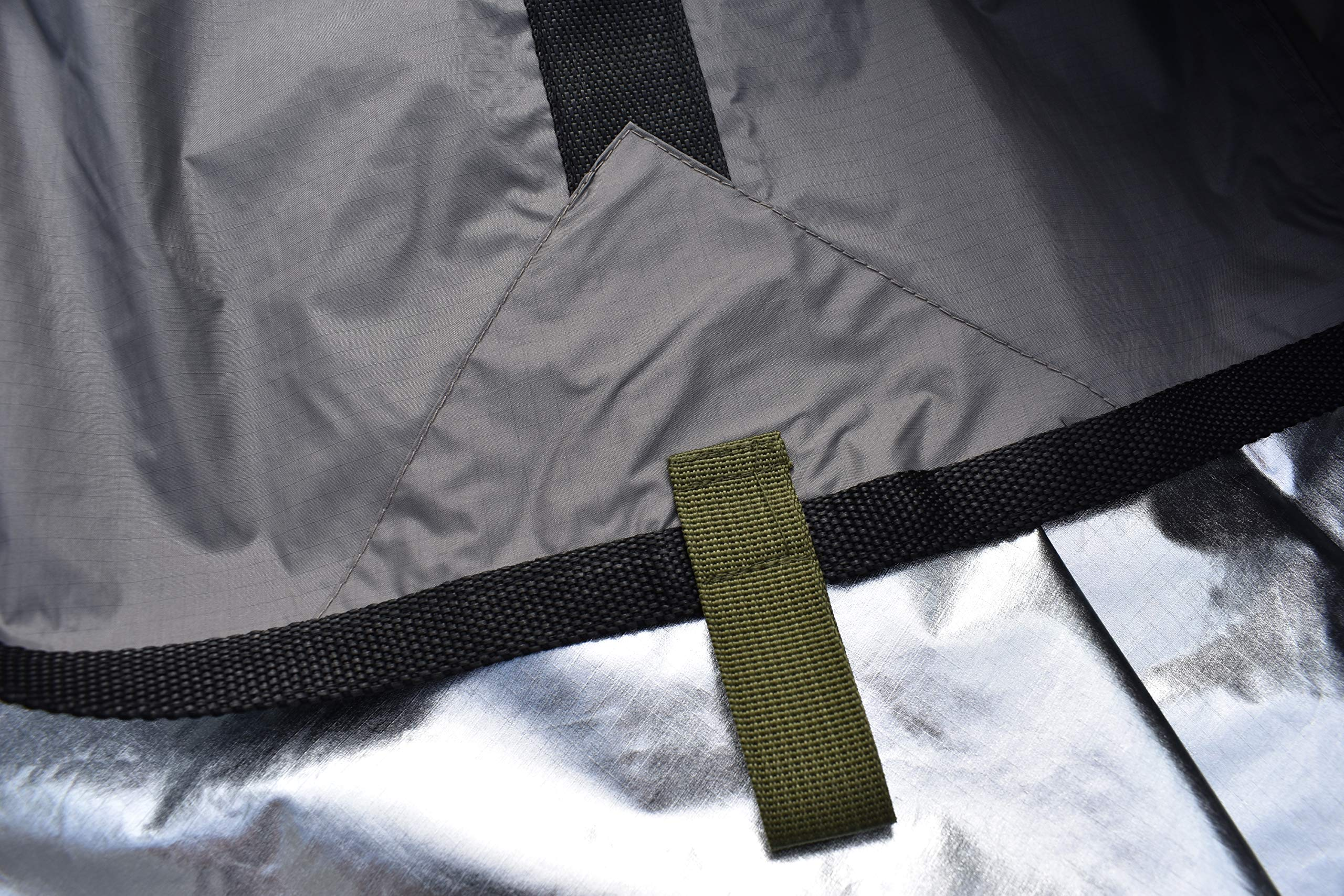 Arcadia Gear 10ft x 10ft Thermal Reflective Light Weight Water Proof Nylon Survival Tarp | The Mongrel EDT | Designed for When Your Life Depends On It by Arcadia Gear