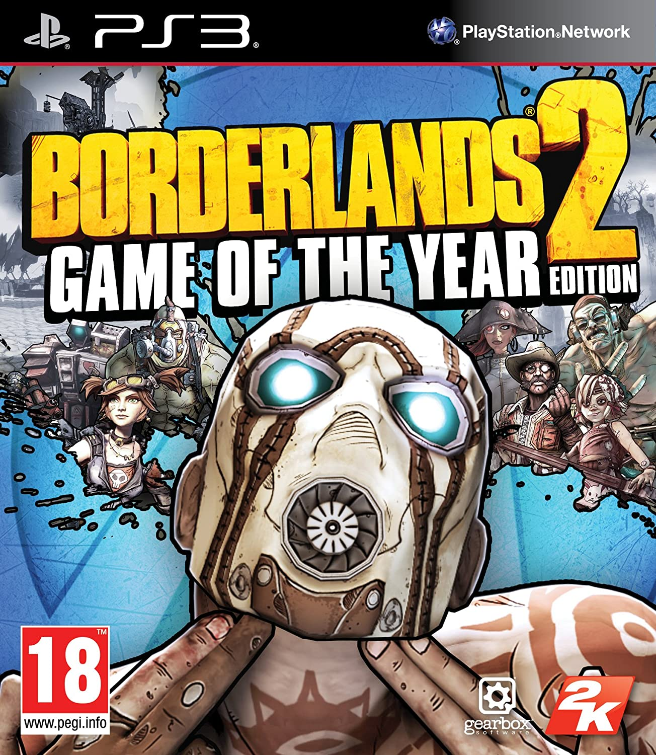 Amazon com: Borderlands 2 Game of the Year Edition (PS3) by