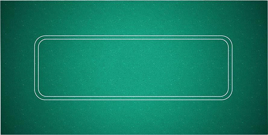 Yuanhe 36 x 72 Casino Table Felt Layout