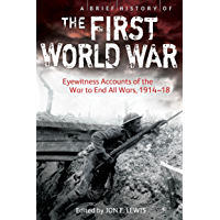 A Brief History of the First World War: Eyewitness Accounts of the War to End All Wars, 1914–18 (Brief Histories)