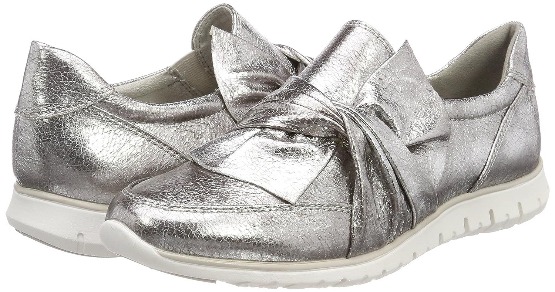 MARCO TOZZI TOZZI MARCO Damen 24738 Slip On Sneaker Silber (Pewter) 02e0bb
