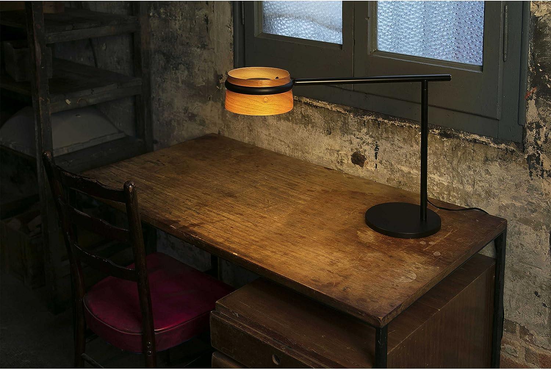 Faro 29568 LOOP LED Lampada da tavolo nera con clip